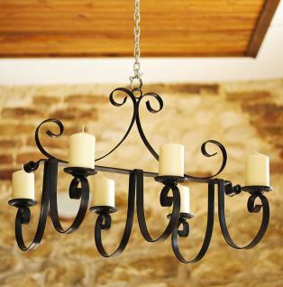 Kronleuchter Schloss 60cm Kerzenhalter Kerzenständer Hängeleuchter aus Metall