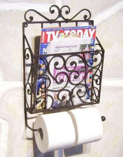 Zeitungs- / Toilettenpapierhalter Willi 92028 Toilettenrollenhalter Zeitungsständer