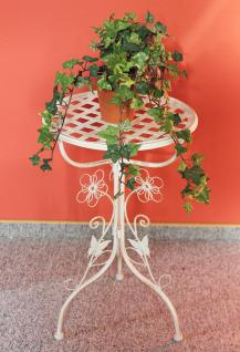 Blumentreppe 130837 aus Metall mit Kreidetafel 108cm Blumenständer Pflanzentreppe - Vorschau 3