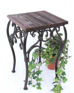 Blumenhocker HX12593 Blumenständer 34cm Eckig Blumensäule Tisch Beistelltisch