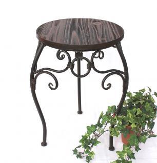 Blumenhocker HX12592 Blumenständer 43cm Rund Blumensäule Tisch Beistelltisch