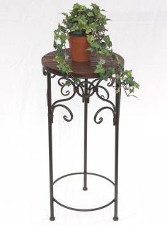 Blumenhocker HX12590 Blumenständer 68cm Rund Blumensäule Tisch Beistelltisch - Vorschau 2