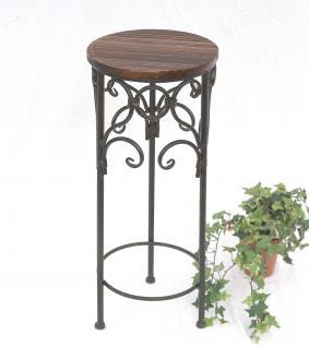 Blumenhocker HX12590 Blumenständer 58cm Rund Blumensäule Tisch Beistelltisch
