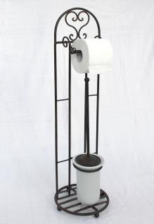 Gut bekannt Toilettenrollenständer 81cm mit Bürste 95227 Toilettenpapierhalter XJ49