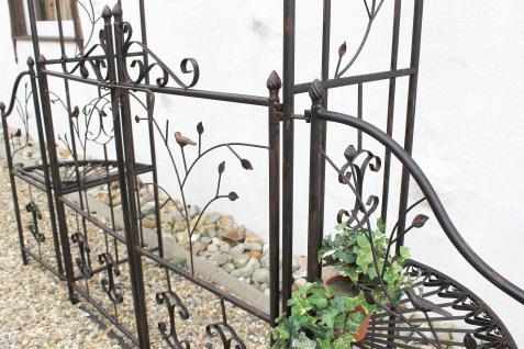 rosenbogen 18602 aus metall schmiedeeisen mit tor 215 x 210 kaufen bei dandibo ambiente gmbh. Black Bedroom Furniture Sets. Home Design Ideas