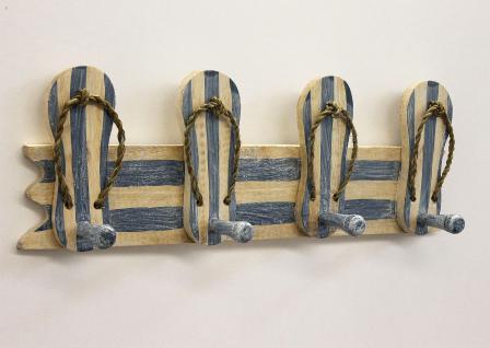 Garderobe Sandalen 2607 Wandgarderobe 45cm Kleiderhaken Handtuchhaken Haken - Vorschau 5