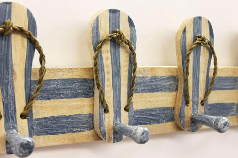 Garderobe Sandalen 2607 Wandgarderobe 45cm Kleiderhaken Handtuchhaken Haken - Vorschau 2