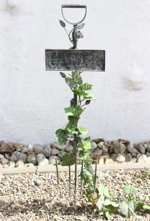 Rankhilfe Gabel Garten 92110 Rankgitter aus Metall H-130cm B-28cm Kletterhilfe - Vorschau 3