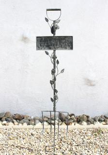 Rankhilfe Gabel Garten 92110 Rankgitter aus Metall H-130cm B-28cm Kletterhilfe - Vorschau 5