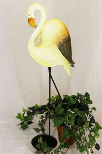 Vogel Flamingo 55cm Fensterdekoration SU8577/M55 Fensterbank Dekoration
