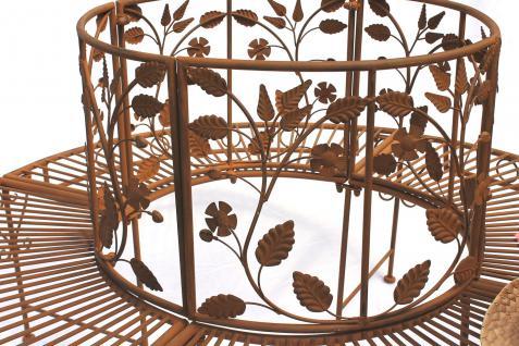 Bank Sitzbank CUCCIU-S B-83cm 077824 Gartenbank aus Metall Gartenmöbel - Vorschau 3