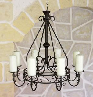 Kronleuchter 101318 Kerzenhalter D-60cm Kerzenständer Hängeleuchter aus Metall