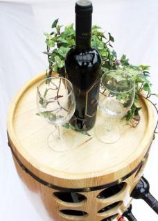 Weinregal Weinfass für 48 Fl. aus Holz H-99cm Nr.1502 Flaschenständer Regal Fass Bar - Vorschau 2