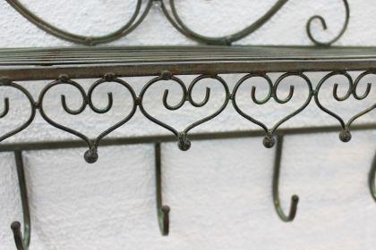 Garderobe Malega 12205 Wandgarderobe 60cm Kleiderhaken Wandregal Regal Haken Badregal - Vorschau 3