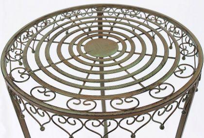 """Tisch 2er Set """" Malega"""" Beistelltisch 12189 Kaffeetisch aus Metall Couchtisch - Vorschau 2"""