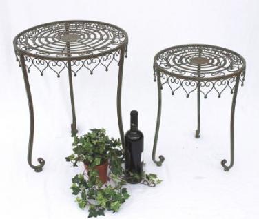 """Tisch 2er Set """" Malega"""" Beistelltisch 12189 Kaffeetisch aus Metall Couchtisch - Vorschau 1"""