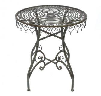 tisch gartentisch malega 12184 bistrotisch 68cm beistelltisch metall eisen kaufen bei dandibo. Black Bedroom Furniture Sets. Home Design Ideas