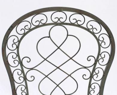 Stuhl Gartenstuhl Malega 12185 Klappstuhl 92cm aus Metall Schmiedeeisen - Vorschau 4