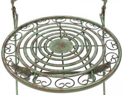 Stuhl Gartenstuhl Malega 12185 Klappstuhl 92cm aus Metall Schmiedeeisen - Vorschau 2
