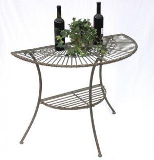 Tisch Wandtisch Malega 100531 Beistelltisch Aus Metall 100cm