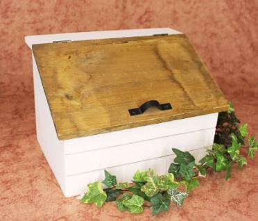 Minikommode Truhe 12025 Küchenschrank Kasten 28cm Shabby Küchenregal Kästchen - Vorschau 5