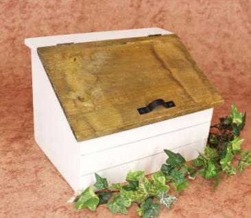 Minikommode Truhe 12025 Küchenschrank Kasten 28cm Shabby Küchenregal Kästchen - Vorschau 3