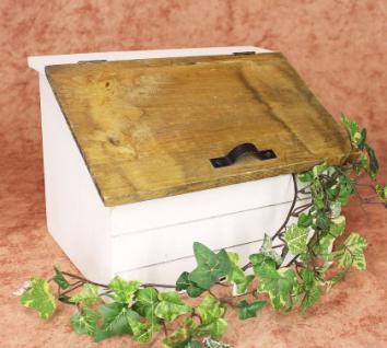 Minikommode Truhe 12025 Küchenschrank Kasten 28cm Shabby Küchenregal Kästchen - Vorschau 1