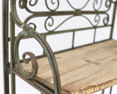 regal malega 12060 aus metall und holz 150cm b cherregal badregal k chenregal kaufen bei. Black Bedroom Furniture Sets. Home Design Ideas