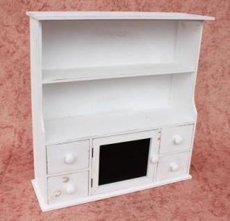 Küchenschrank 12238 Regal mit Notiztafel 55cm Schrank Shabby Buffet Küchenregal - Vorschau 5