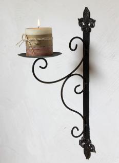 Wandkerzenhalter 12111 Kerzenhalter aus Metall Wandleuchter 47cm Kerzenleuchter
