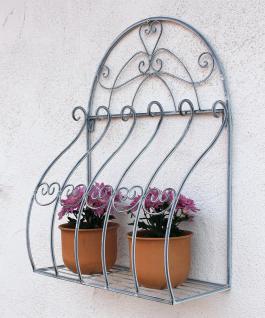 Wandblumenhalter Romance 66cm Blumenständer 20312 Metall Wandregal Blumenregal - Vorschau 5