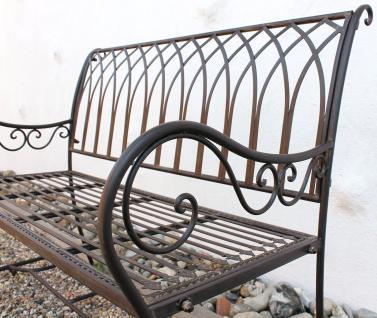 gartenbank 3 sitzer metall