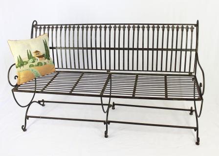 bank finca 063 jo 3 sitzer aus metall gartenbank sitzbank baumbank 153cm braun kaufen bei. Black Bedroom Furniture Sets. Home Design Ideas