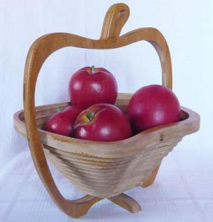 Obstschale Schale Korb Apfel Brotkorb klappbar 30cm