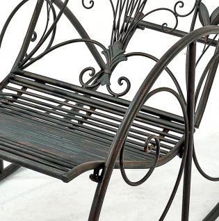 """Schaukelstuhl """"Relax"""" Liegestuhl aus Metall Sessel Schaukelbank Schwingsessel Relaxstuhl - Vorschau 2"""