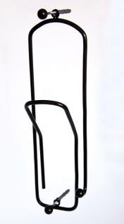 """Kleiderhaken """"Büroklammer"""" Schwarz Rot Gold Garderobe Wandhaken Haken 32cm 3stk. - Vorschau 3"""