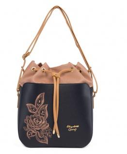 Elizabeth George Damen Handtasche 771-602 Damentasche Henkeltasche Tragetasche Schultertasche Shopper