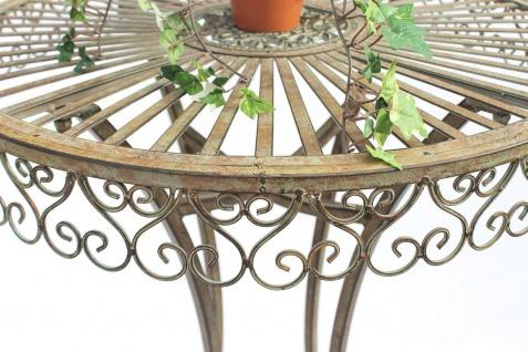 DanDiBo Stehtisch Garten Metall Antik 130414 Tisch H-106cm D-65cm Gartentisch Bistrotisch Bartisch - Vorschau 3