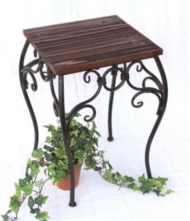 Blumenhocker HX12593 Blumenständer 43cm Eckig Blumensäule Tisch Beistelltisch