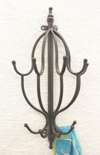 Wandgarderobe 50 cm Garderobe mit 10 Haken 140722 Wandhaken Kleiderhaken