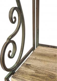 """Regal """" Malega"""" 12060 aus Metall und Holz 150cm Bücherregal Badregal Küchenregal - Vorschau 3"""