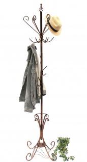 Kleiderständer Schirmständer Art.156 Metall 210cm Garderobe Garderobenständer