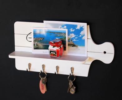 Schlüsselboard mit Ablage 21254 Schlüsselkasten Memoboard 40cm Schlüsselleiste - Vorschau 3