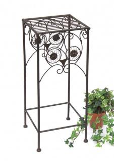Blumenhocker Eule 60cm Blumenständer 140193-M Pflanzenständer Hocker Beistelltisch Blumensäule
