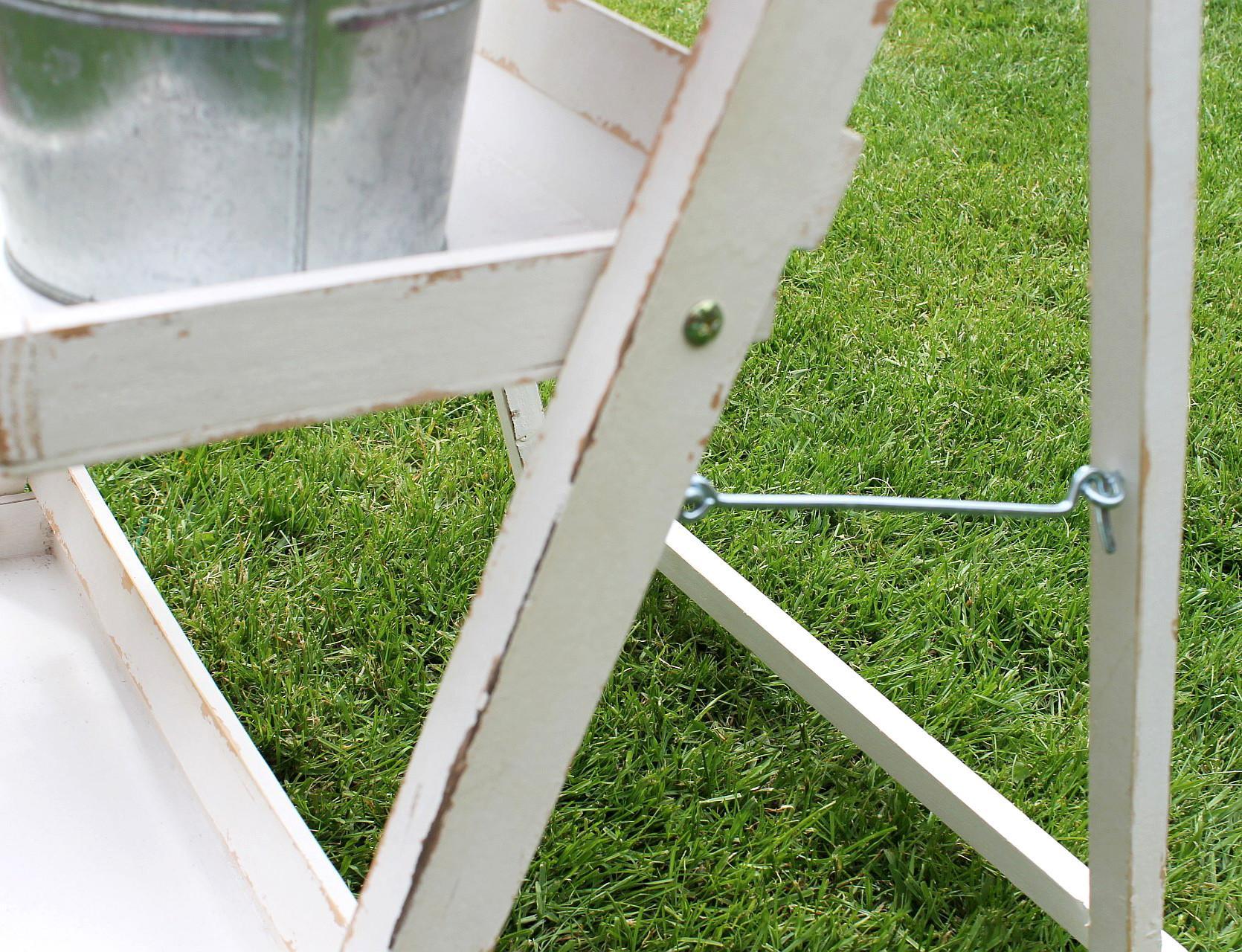 blumentreppe 14b496 aus holz 93cm blumenständer pflanzentreppe