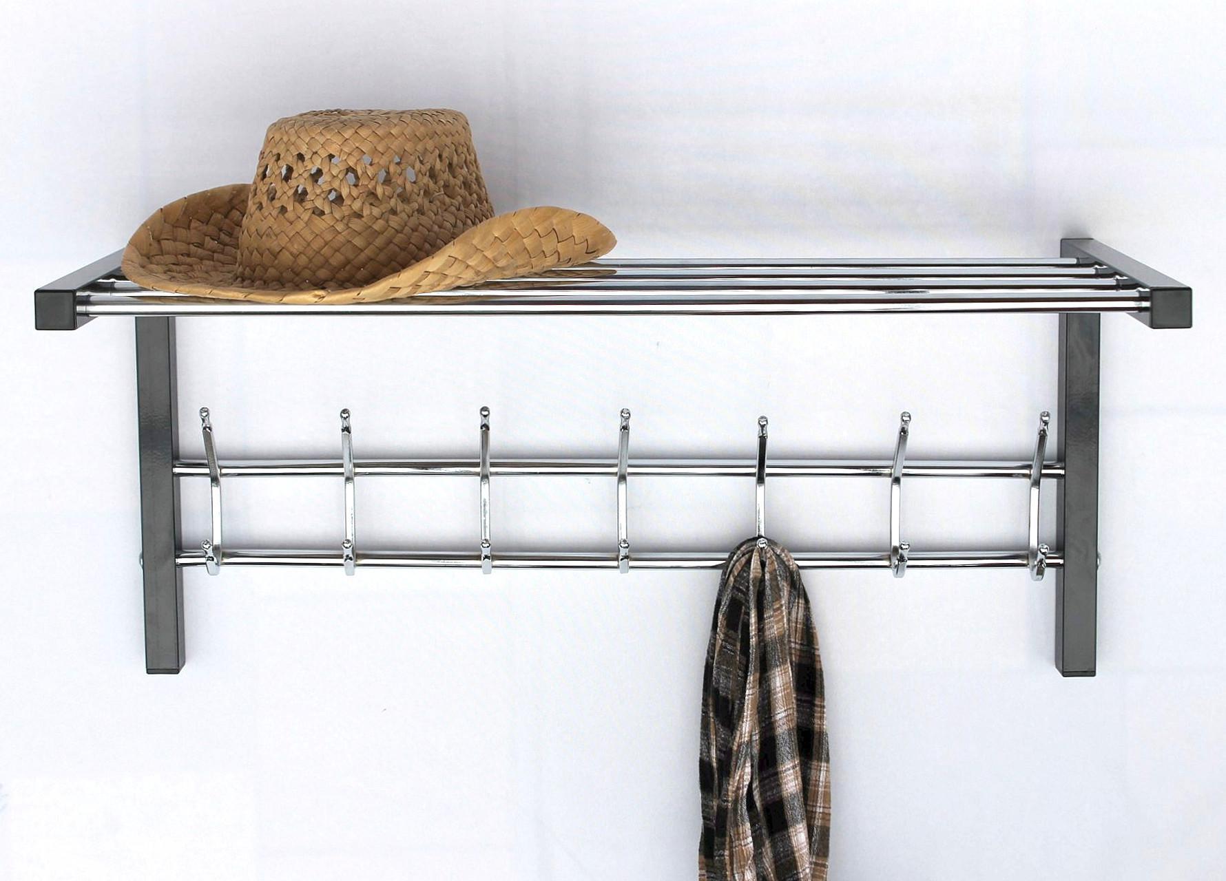 wandgarderobe mit hutablage garderobe 70cm. Black Bedroom Furniture Sets. Home Design Ideas