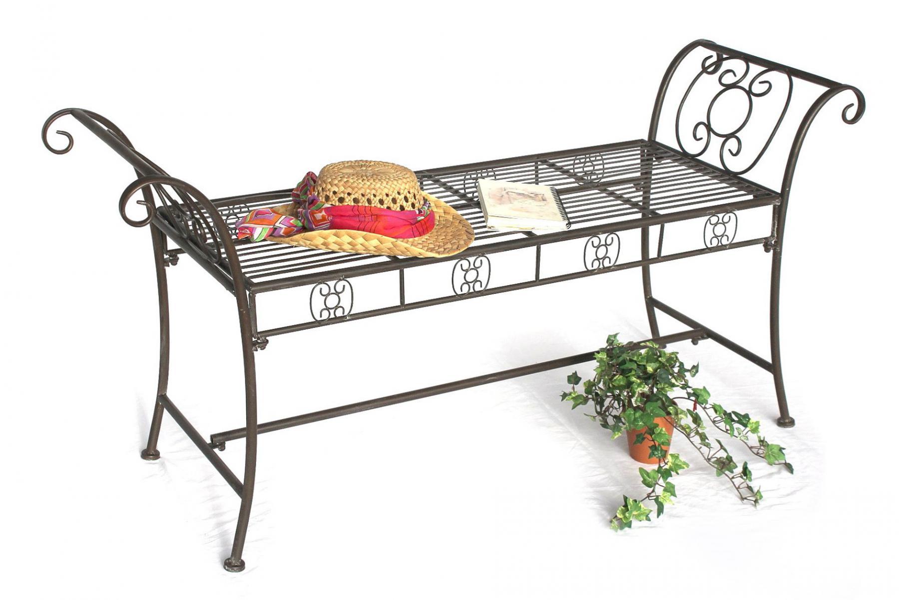 dandibo gartenbank wetterfest aus metall bank sitzbank 2. Black Bedroom Furniture Sets. Home Design Ideas