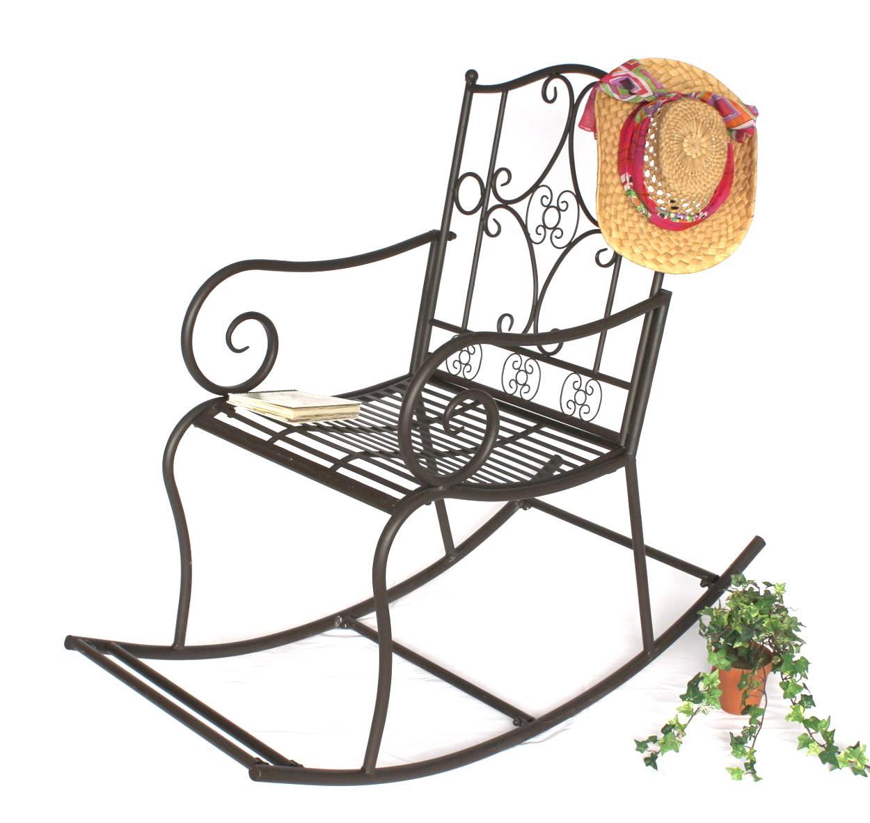 Awesome Garten Gartenstuhl Metall Stuhl Schaukel Dy Grau Braun Eisen Antik  With Gartenstuhl Eisen Antik