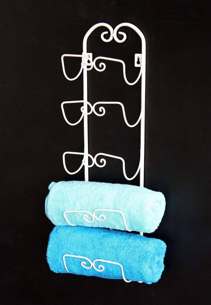 DanDiBo Handtuchhalter Wand Handtuchregal