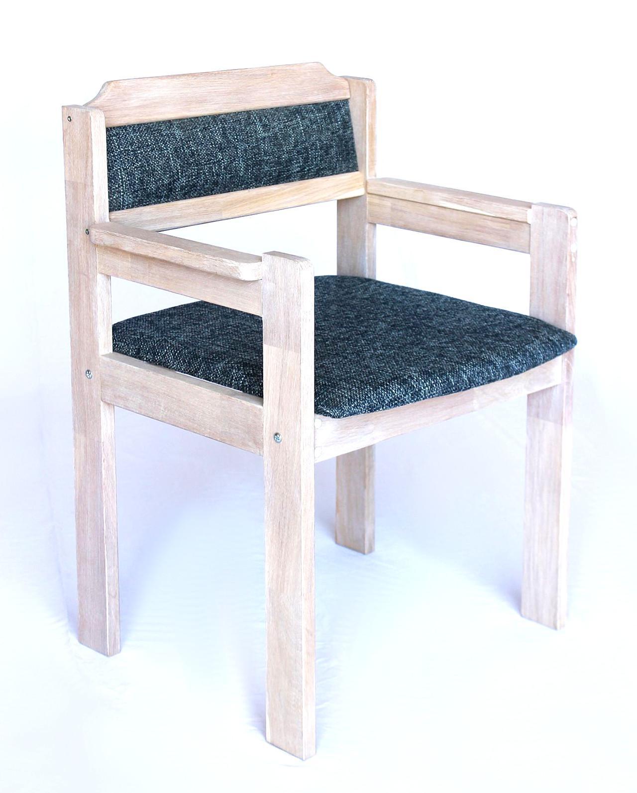 dandibo sitzgruppe esstisch 150 x 83 mit 4 st hlen gepolstert eiche hell massiv tischgruppe. Black Bedroom Furniture Sets. Home Design Ideas